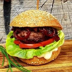 Kamut Burger Brioche